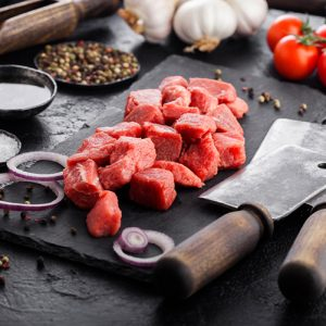 Lean Chuck Steak Diced 500-600g