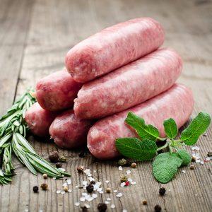 Plain Premium Pork Sausage x6