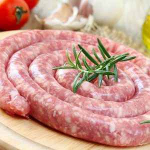 Italian Pork Sausage With Salt, Pepper and Fennel 500-650g